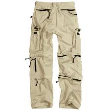 surplus zip off cargo hiking mens combat trousers army 3 in 1