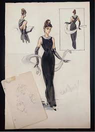 Fashion Designers Sketches Of Pop Cultures Most Iconic Looks