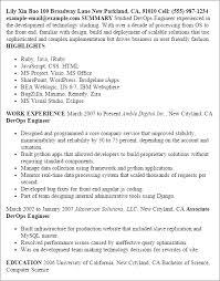 Resume Templates Devops Engineer