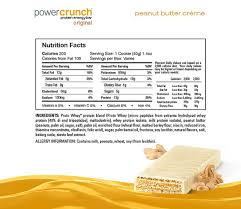 NEW BNRG POWER CRUNCH PRO WHEY WAFER PROTEIN