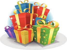 Happy Birthday Gifts Pack vector art illustration