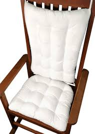 Cotton Duck White Rocking Chair Cushions - Latex Foam Fill ... Shop Cambridge Casual West Lake Rocking Chair With Seat Cushion Navy Nautical Pad Etsy Pong Chair Glose Dark Brown Ikea Amazoncom Klear Vu Inoutdoor Set 205 X 19 Outdoor Cushions Home Fniture Design Wooden Babydoll Bedding Heavenly Soft Reviews Wayfair Cotton Duck Brown Latex Foam Barnett Solid Carousel Designs Xxl W Ties Color Conni Chairpad Small Make Your A More Comfortable With Windsor