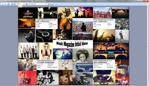 Music Magazine Ideas Names And Collage