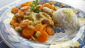comment cuisiner blanc de poulet blancs de poulet sauce moutarde et curry au thermomix cookomix