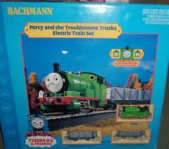 100 Thomas And Friends Troublesome Trucks HO Bachmann Percy And The Train Set 00643 On