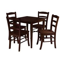 Groveland 5-Piece Square Dining Table W/ 4 Chairs By Winsome Wood Live Edge Acacia Wood Iron 106 Ding Table W 5 Chairs Bench Signature Design By Ashley Charrell Piece Round Set Hooker Fniture Archivist With Pedestal Shop Picasso Pc Kitchen Table Set Leaf And 4 Plainville Settable Vintage Joanna Vintagrpjoannatbl5 Leg Side Detail Feedback Questions About Goplus Pcs Black Room Boconcept Granada Extendable Aptdeco Coaster Barzini Leatherette Mix Match 150041 Counter Height Dunk Costway Metal Canterbury Extension Noa Nani
