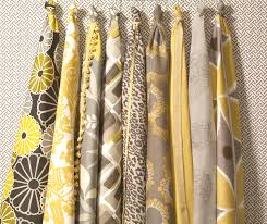 calico corners dreamy yellow and gray fabric collection home y
