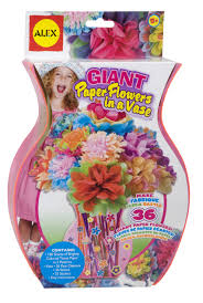 Get Quotations ALEX Toys Craft Giant Paper Flowers In A Vase