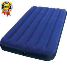 Intex Twin Size Classic Downy Inflatable Air Bed Mattress WA