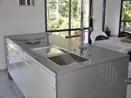 plan de travail cuisine en quartz intérieur granit plan de travail en quartz unistone grigio finition