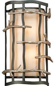 troy lighting b2882 adirondack 2 light ada compliant flush mount