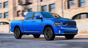 2018 Ram 1500 Sport Hydro Blue - Limited Edition Truck