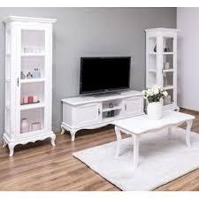 romantische wohnwand weiß wohnzimmer set vintage moebro