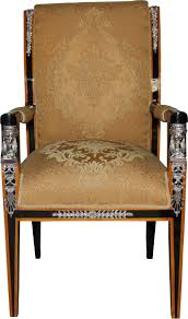 casa padrino barock luxus empire esszimmer stuhl mit armlehnen mahagoni gold schwarz silber limited edition