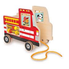100 Toy Fire Truck Manhattan My Pull Baby Earth