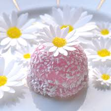 Edible White Daisies 3D Flowers Wafer Paper Boho Wedding Cake