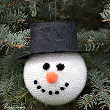 Frosty The Snowman Christmas Tree Theme by Diy Frosty The Snowman Ornament The Resourceful Mama