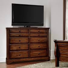 Vaughan Bassett Triple Dresser by Artisan U0026 Post By Vaughan Bassett Artisan Choices Solid Wood Villa