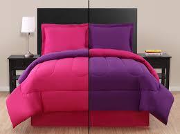 Twin Pink Purple Reversible forter Set
