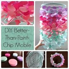 Do It Yourself Crafts For Teenagers Step By Better Than Paint Chip Mobile Artichoke Hearts