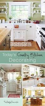 Todays Country Kitchen Decorating