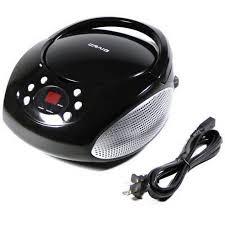 craig cd boombox with am fm radio with led display walmart com