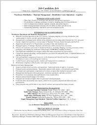 Warehouse Manager Resume Sample 225528 Summary For