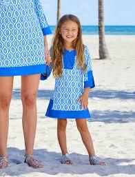printed tunic dress girls cabana life sun protective clothing