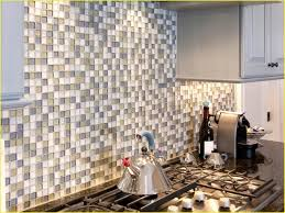 Peel And Stick Glass Subway Tile Backsplash by Kitchen Backsplash Peel And Stick Tiles For Kitchen Stick Down