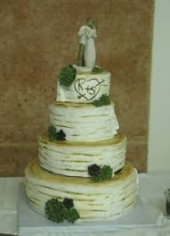 Birch Wedding Cake AND The Willow Tree Love