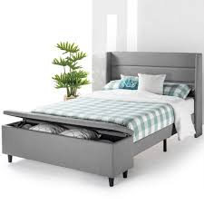 Mellow Modern Upholstered Platform Bed | Best Bedroom Furniture For ... Small Upholstered Chair For Bedroom Beach Inspired Crystal King Fniture Chaise Accent Brown Velour Soft Touch Vanilla Swivel Recliner Good Fit For Spaces Best Chairs With Ottoman Leather Club And Cool Rocker Recliners Teyana White Simple Designs Vint Girl Master Dresser Suite Navy Ding Awesome Wingback C Tufted Set Table Velvet Amazoncom Button Back Armchair High Living Room Statement Armchairs Blue Rh Homepage Makeover Before Sitting Chairs Small Rooms Living Room Elites Home Decor