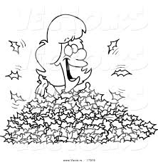 cartoon pile of leaves clipart · fall leaves clip art black and white