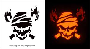 Skeleton Pumpkin Carving Patterns Free by Printable Scary Pumpkin Carving Patterns Patterns Kid