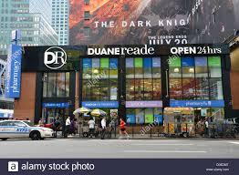 100 Duane Nyc Reade Pharmacy Drug Store Manhattan New York City USA Stock