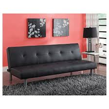 Target Room Essentials Convertible Sofa by Nola Tufted Futon Black Dorel Home Products Target