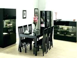 Black Wood Dining Room Bench Tables Dark Set With G Furniture Table Art Amusing Roo Stunning