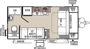 Flagstaff Micro Lite Light Weight Trailers Floor Plans
