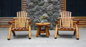 Great Outdoor Log Furniture Pa Rustic White Cedar Log Furniture
