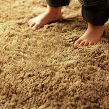 tapis moquette de chambre en soyeux du 80x160cm golde