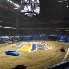 Monster Jam - Bridgestone Arena - Nashville, TN On 1/10/2016 - 147 ...
