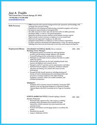 Sample Finance Manager Resumes