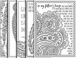 5 Bible Verse Coloring Pages Set 1 By HappyFlowerPrintable On Etsy
