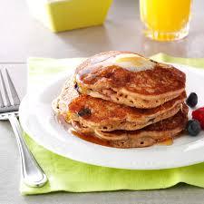 Bisquick Pumpkin Puff Pancakes by Berry Granola Pancakes Recipe Taste Of Home