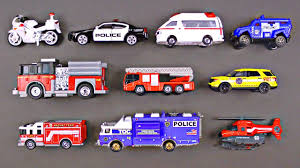 Best Toddler Learning Emergency Vehicles For Kids #1 Police Cars ...