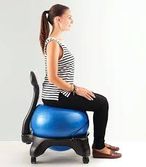 Yoga Ball Office Chair Amazon by Desk Stability Ball Office Chair Benefits Exercise Ball Desk