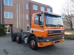 DAF 75 240 ATI Chassis Trucks For Sale, Chassis Cab From The ...