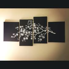 Multi Canvas Wall Art Ideas About Multiple On Gold For Awesome