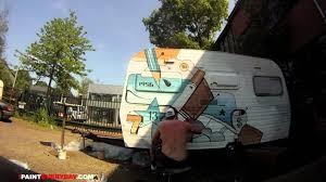 Painting A Caravan I PAINT Everyday 484 Ottograph