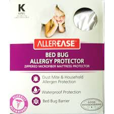 allerease bed bug allergy protection mattress protector walmart com