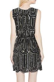 Amazon Exlura Vintage Cocktail Party Dress 1920s Gatsby Beaded Sequin Little Black Clothing